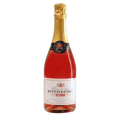Baron de Rothberg Sparkling Rosé, France (750ml)
