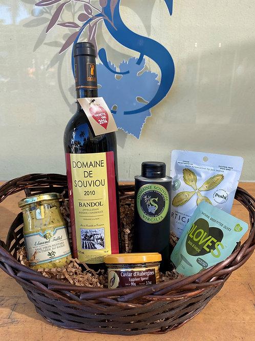 Bandol Wine and Olive Oil Basket