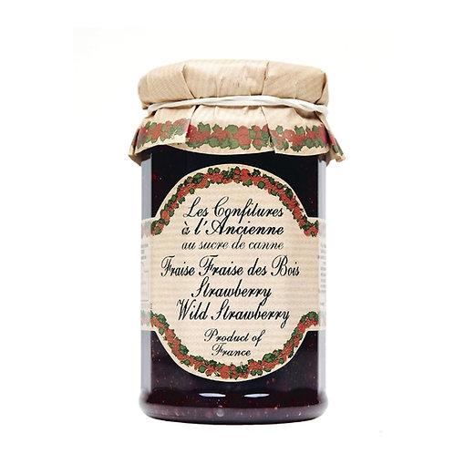 Wild Strawberry Jam, Les Confitures a l'Ancienne (9.5oz)