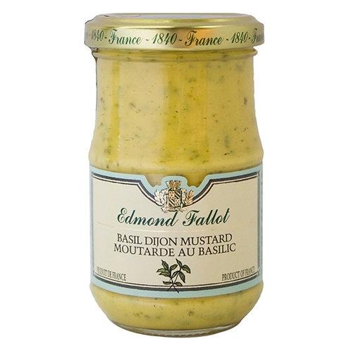 Basil Mustard, Edmond Fallot (7.2oz)