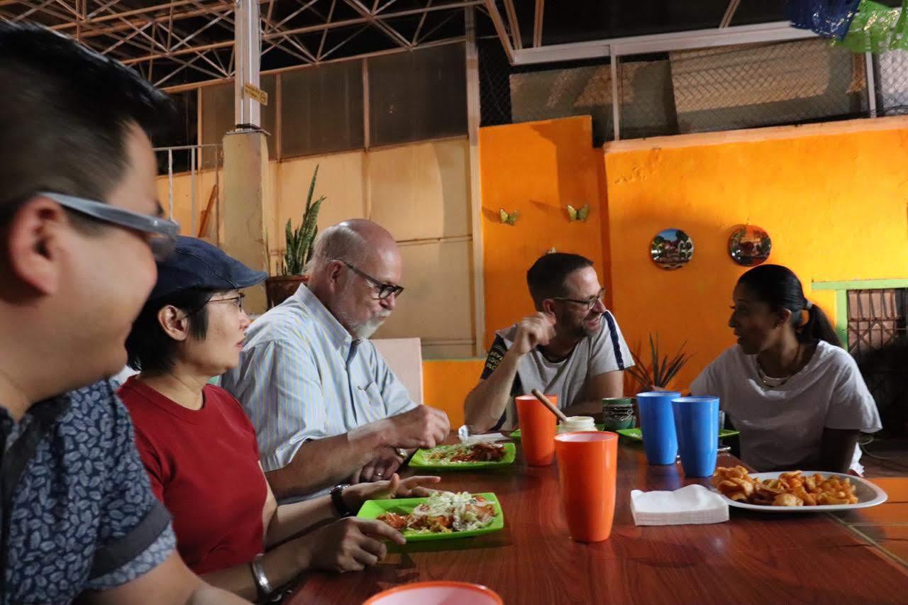 Cena del día del estudiante