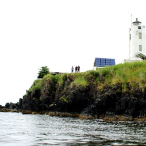 Family relies on volunteers and survival skills at remote lighthouse watch
