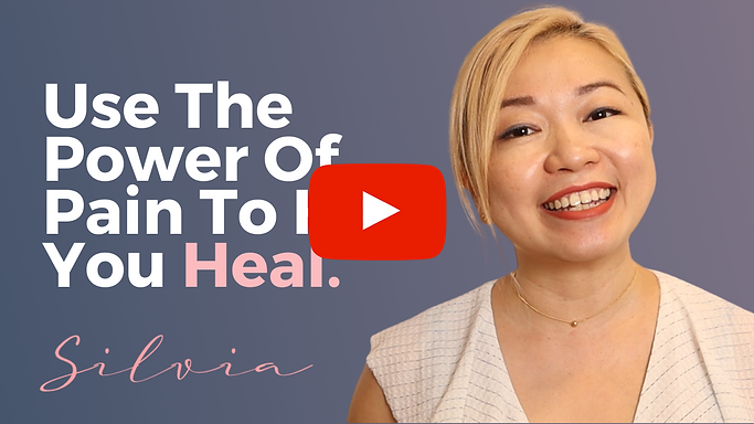 USE THE POWER OF PAIN TO HEAL