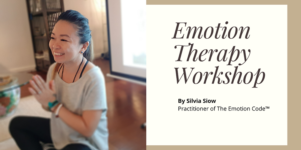 Emotion Therapy Workshop By Silvia Siow