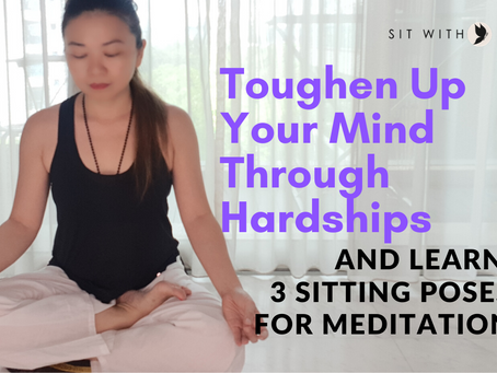 Allow Hardships To Toughen Up Our Mind.