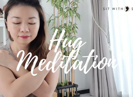 Love Yourself. Do A Hug Meditation.