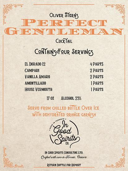 In Good Spirits - Perfect Gentlemen