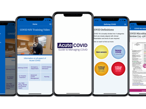 Imagineear develop Acute Covid teaching app, in partnership with CW+