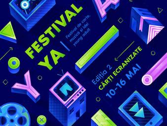 Cartea și filmul își dau întâlnire în FestivalYA, primul festival de carte și idei Young Adult