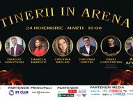 Tinerii în Arenă - evenimentul de business pe care să nu-l ratezi