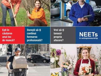 """""""NEETs in ENTREPRENEURSHIP"""", program internațional de educație antreprenorială și îndrumare profesio"""