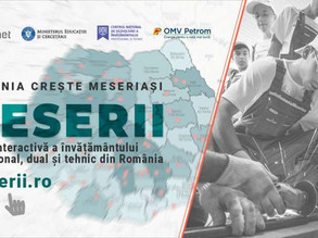 Meserii.ro – Harta Învățământului Profesional și Tehnic din România