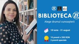 """""""Biblioteca ZF"""" îți aduce 200 de cărți care să te ajute să devii cea mai bună versiune a ta."""