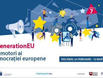 #GenerationEU - Devino promotor al democrației europene