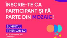 300 de tineri sunt așteptați, în Constanța, la Summitul Tinerilor 6.0: MOZAIC