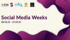 Social Media Weeks - two weeks of webinars to help you create great content