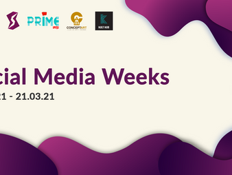 Social Media Weeks - two weeks of webinars to help you create great content