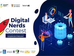Digital Nerds – Concurs online de programare pentru copii și tineri!