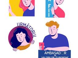 Echipa UNITED selectează tineri gata să contribuie la promovarea valorilor europene în România.