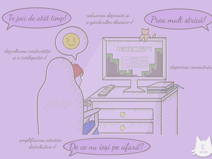 De ce jocurile video sunt mai benefice decât credem