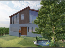 3D view of recent house design