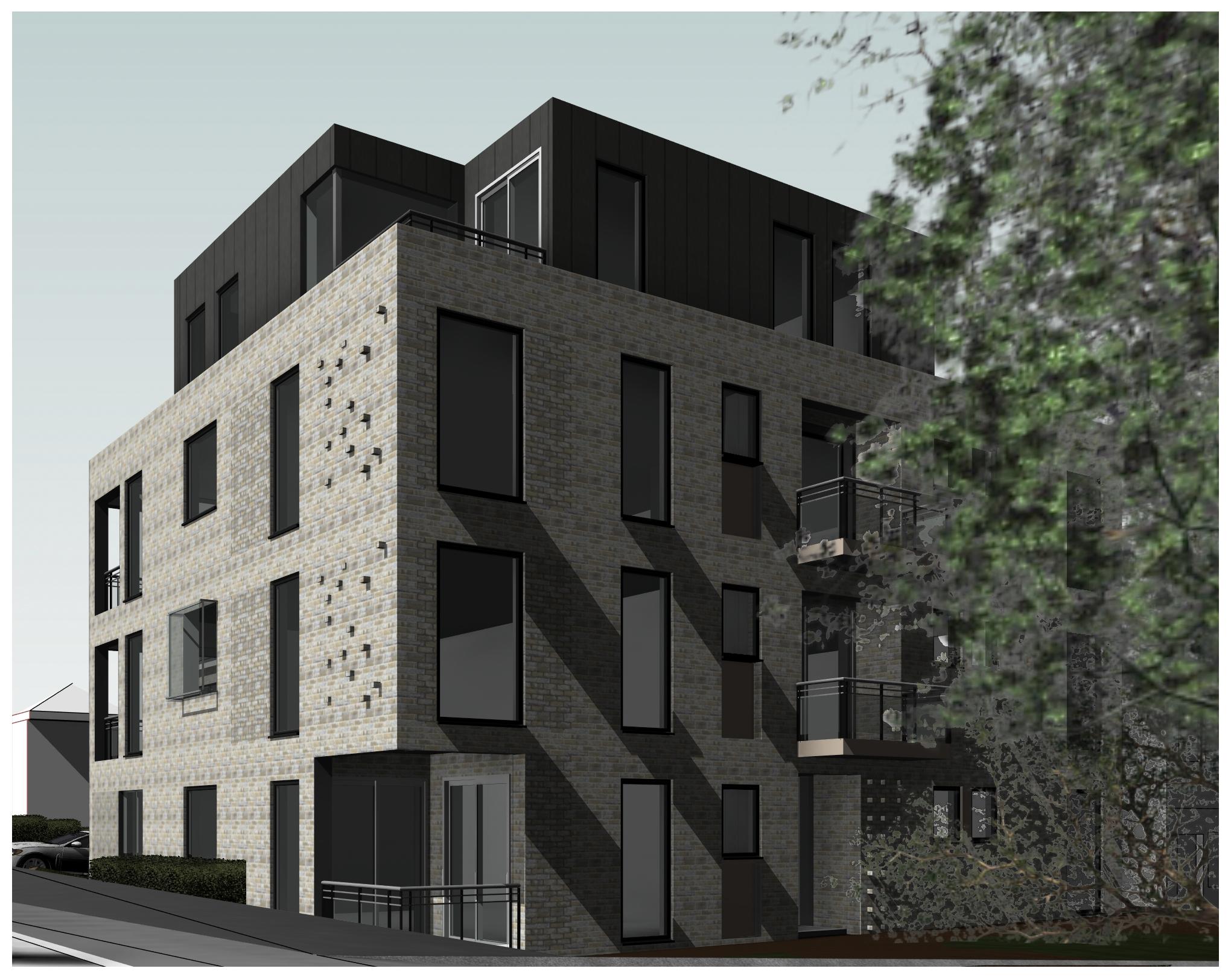 New build Apartments, Croydon