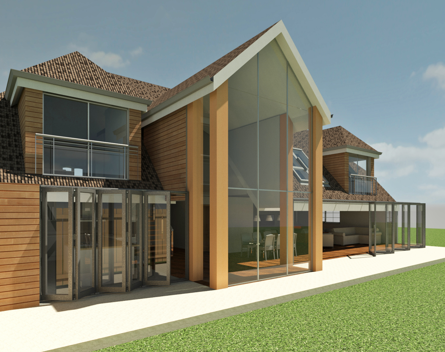 3D Work for residential extension