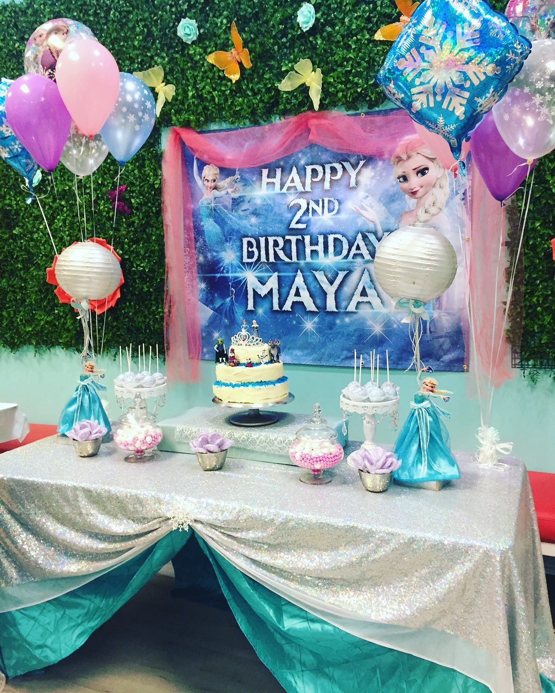 package 3 frozen cake table