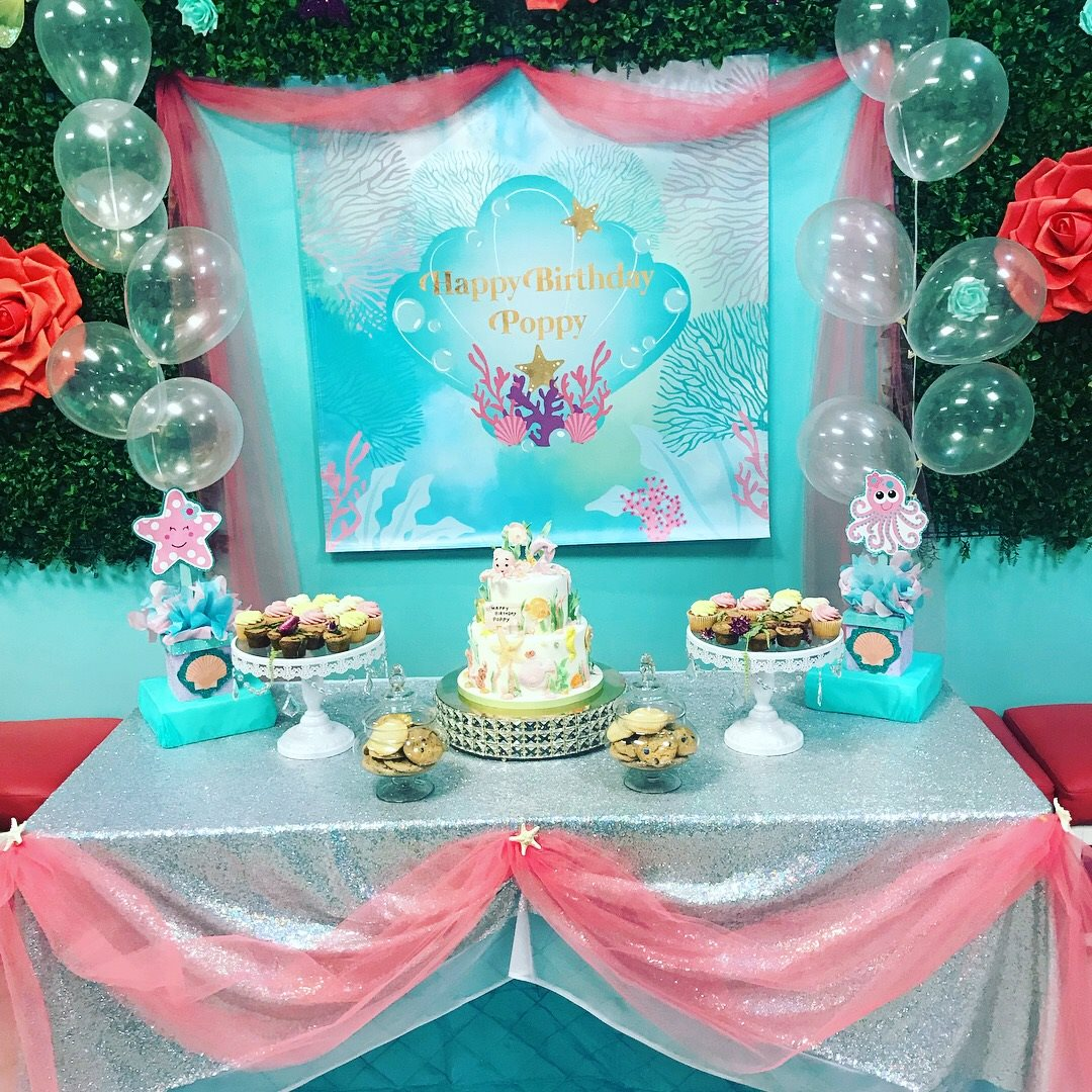 package 3 under the sea cake table