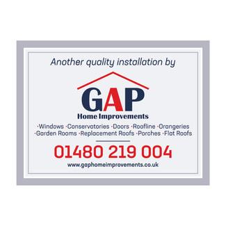 GAP Home Improvements - Installation Boards