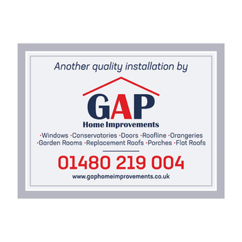 GAP Home Improvements - Installation Boards
