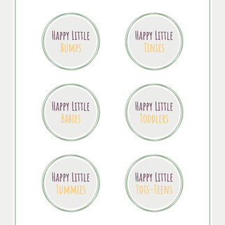 The Happy Little Baby Company - Mini Course Logos