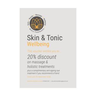 Skin & Tonic Wellbeing - Voucher