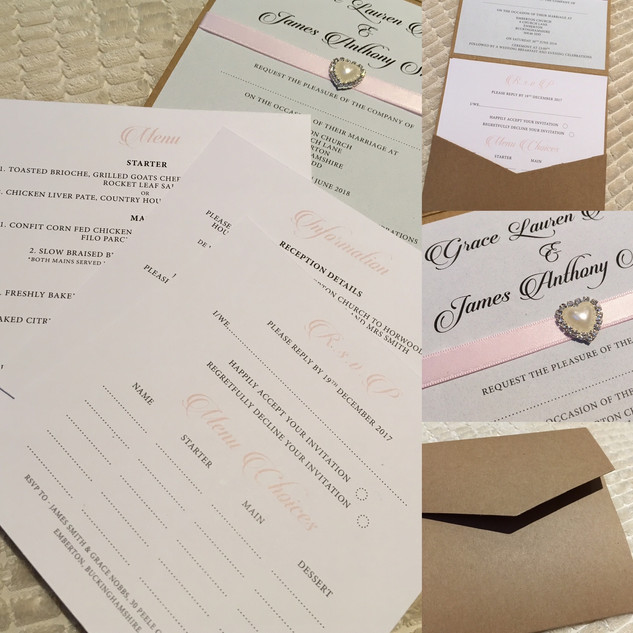 Folding Pocket Invitation