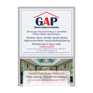 GAP Home Improvements - Magazine Article