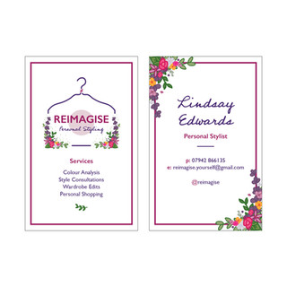 REIMAGISE - Personal Styling - Business Cards