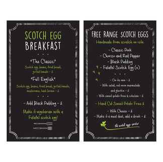 The Village Deli - Scotch Egg / Breakfast Menu