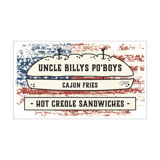 UNCLE BILLYS PO'BOYS - Banner