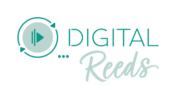 DIGITAL Reeds (primary logo)