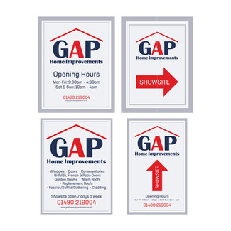 GAP Home Improvements - Location Boards