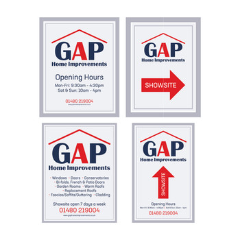 GAP Home Improvements - Location Boards