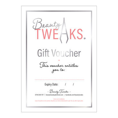 Beauty TWEAKS. - Gift Voucher