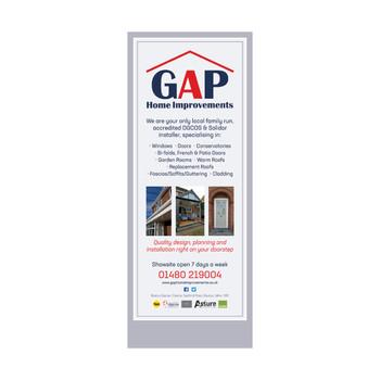 GAP Home Improvements - Roller Banner