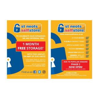 St. Neots Self Store - Leaflet