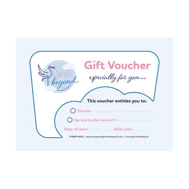 Birth and beyond - Gift Voucher