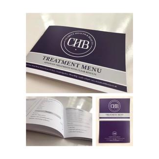 CLARITY HEALTH & BEAUTY - Treatment Menu