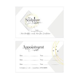 the Sculpture Garden - Business Cards