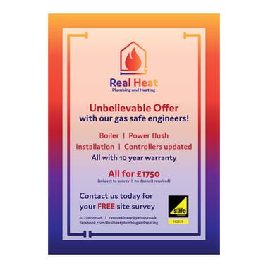 Real Heat - Offer Leaflet