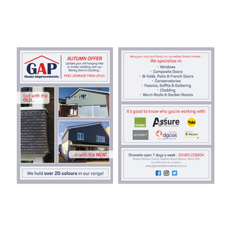 GAP Home Improvements - Leaflet