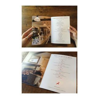 The George Hotel & Brasserie Bucken 2014 Christmas Menu